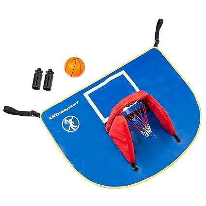 Ultrasport Set de baloncesto para cama elástica con toldo ...