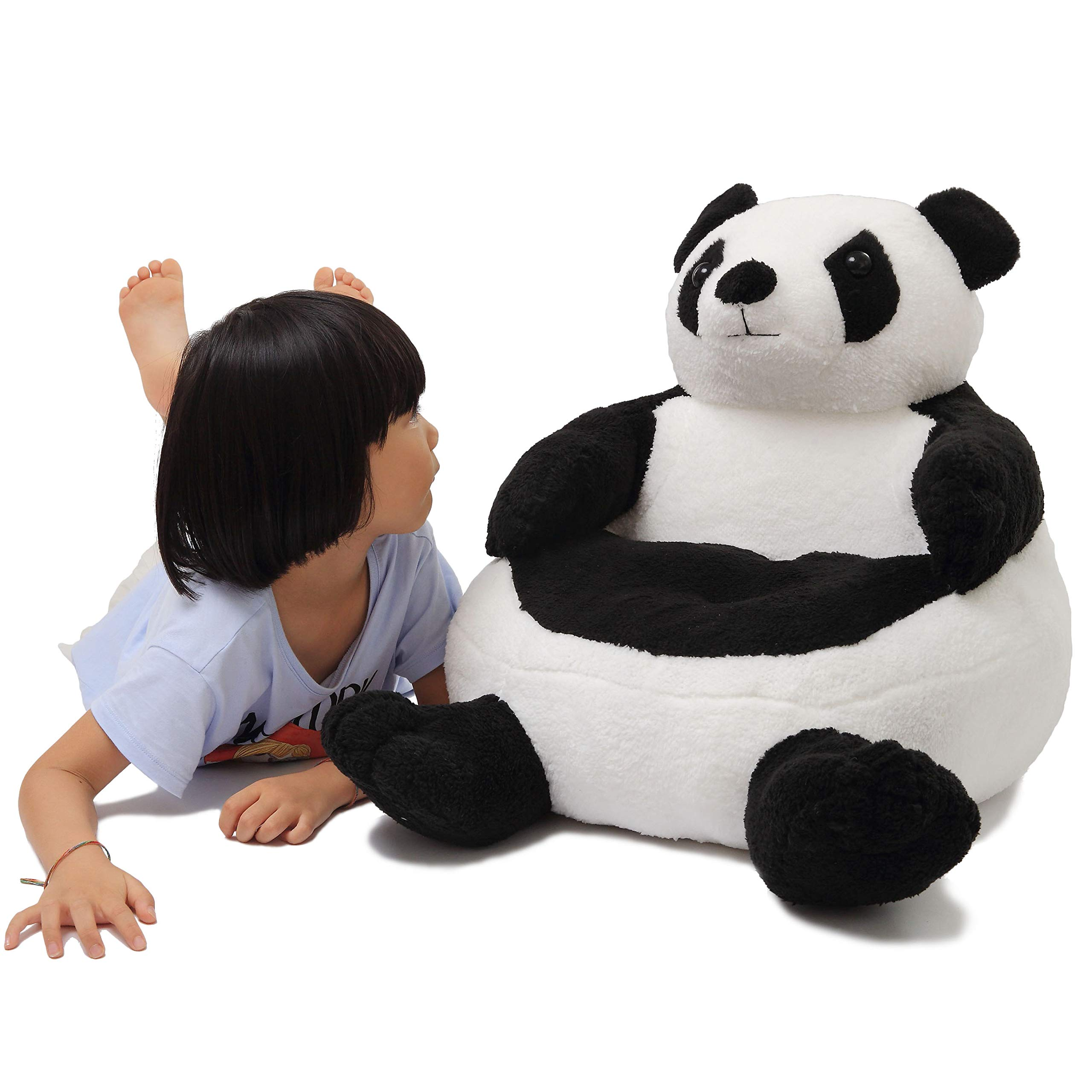 YXCSELL Furniture, Kids Chair PP Cotton Cartoon Panda Animal Lovely Character Sofa, Seat Pad Circular Soft Comfortable Kids Sofa