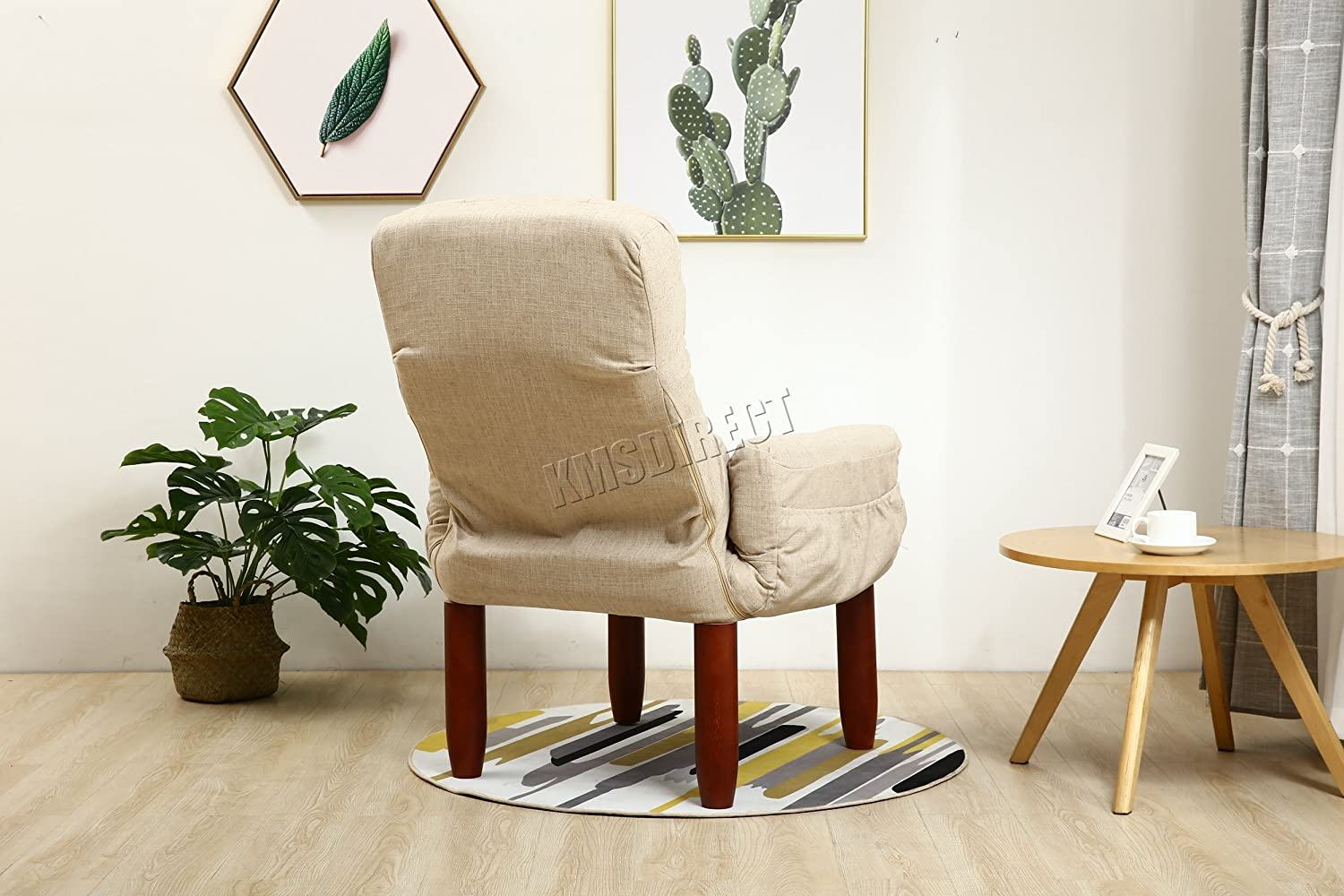 WestWood Modern Single Fabric Armchair Seat Accent Chair Sofa ...