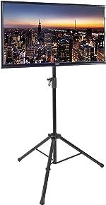 VIVO Black Tripod 32 to 55 inch LCD LED Flat Screen
