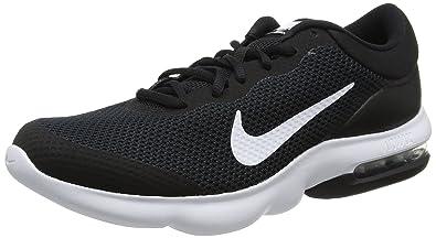 low priced 064a5 fdfe8 Nike Mens AIR MAX Advantage Black White Size 7