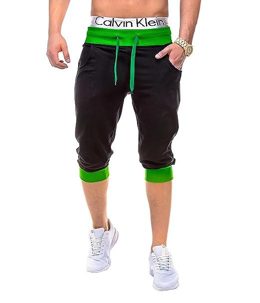 los más valorados completamente elegante nuevo producto BetterStylz PumpUpBZ Mens 3/4 Jogging-Shorts Sweat-Pants Bermuda Fitness  SweatShorts Slim Fit 8. Colors (S-XXL)
