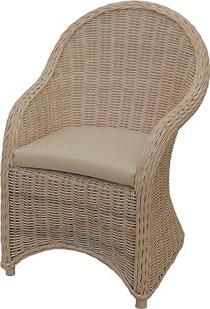 Korb Outlet Esszimmer Sessel Modern Alt Weiß Korbsessel Natur Rattan