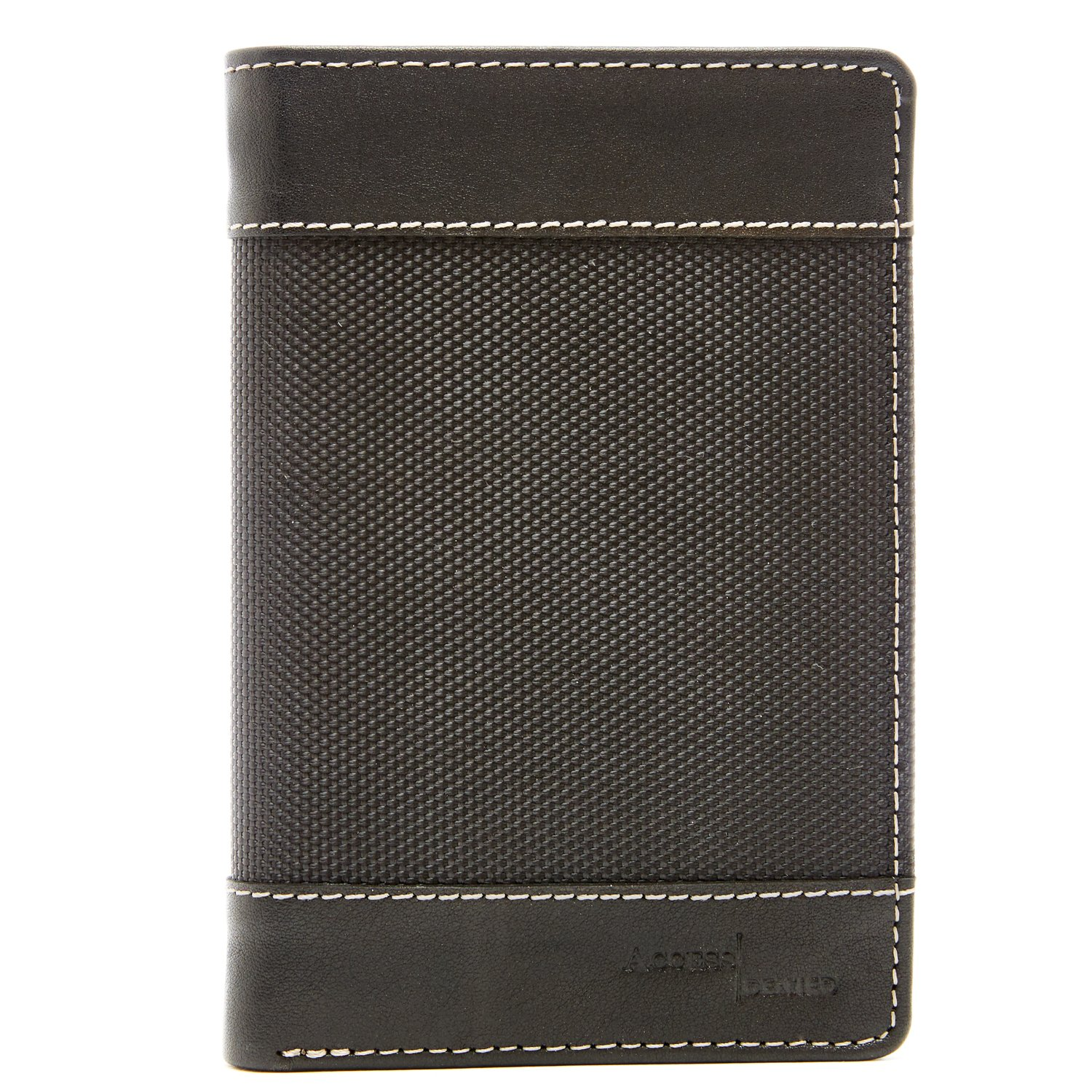 Passport Holder Cover RFID Blocking - Leather Travel Wallet Credit Card Organizer by Access Denied (Image #3)