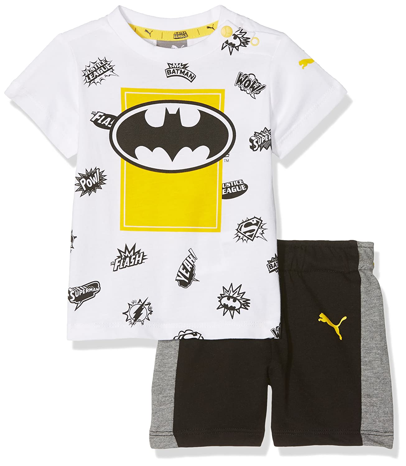Puma Unisex Baby Justice League Set Packs/Kits PUMAE|#PUMA 850273 02