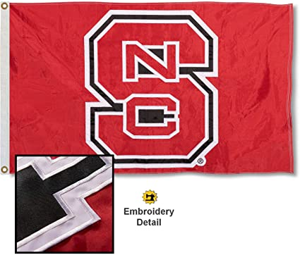 NCAA North Carolina State Wolfpack 3-by-5 Foot Flag with Grommets