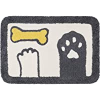 Ankah Shaggy Bath Mat Shower Rug, Soft and Comfortable, High Absorbent and Anti Slip, Machine Washable Fit for Bathtub…