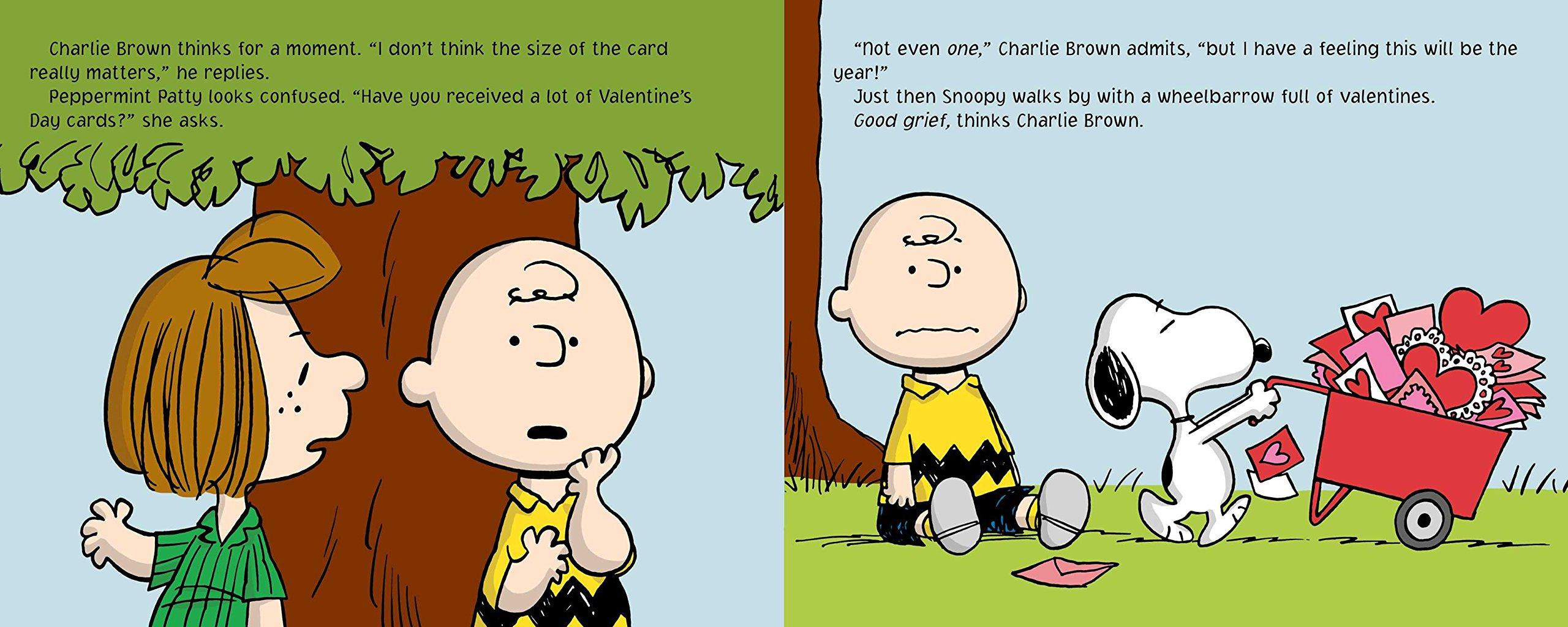 A Charlie Brown Valentine Peanuts Natalie Shaw Charles M – Charlie Brown Valentine Cards