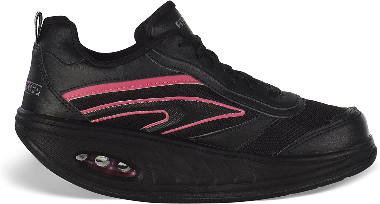 Fitness Step Neon Pink - Zapatillas tonificadoras para Mujer: Amazon.es: Zapatos y complementos