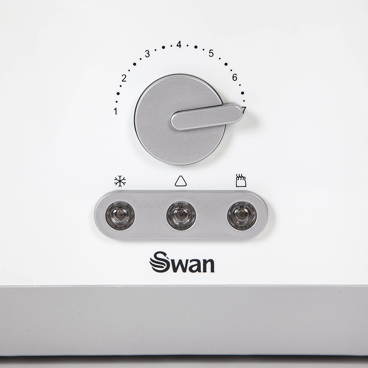 Swan 4 Slice Long Slot White Toaster