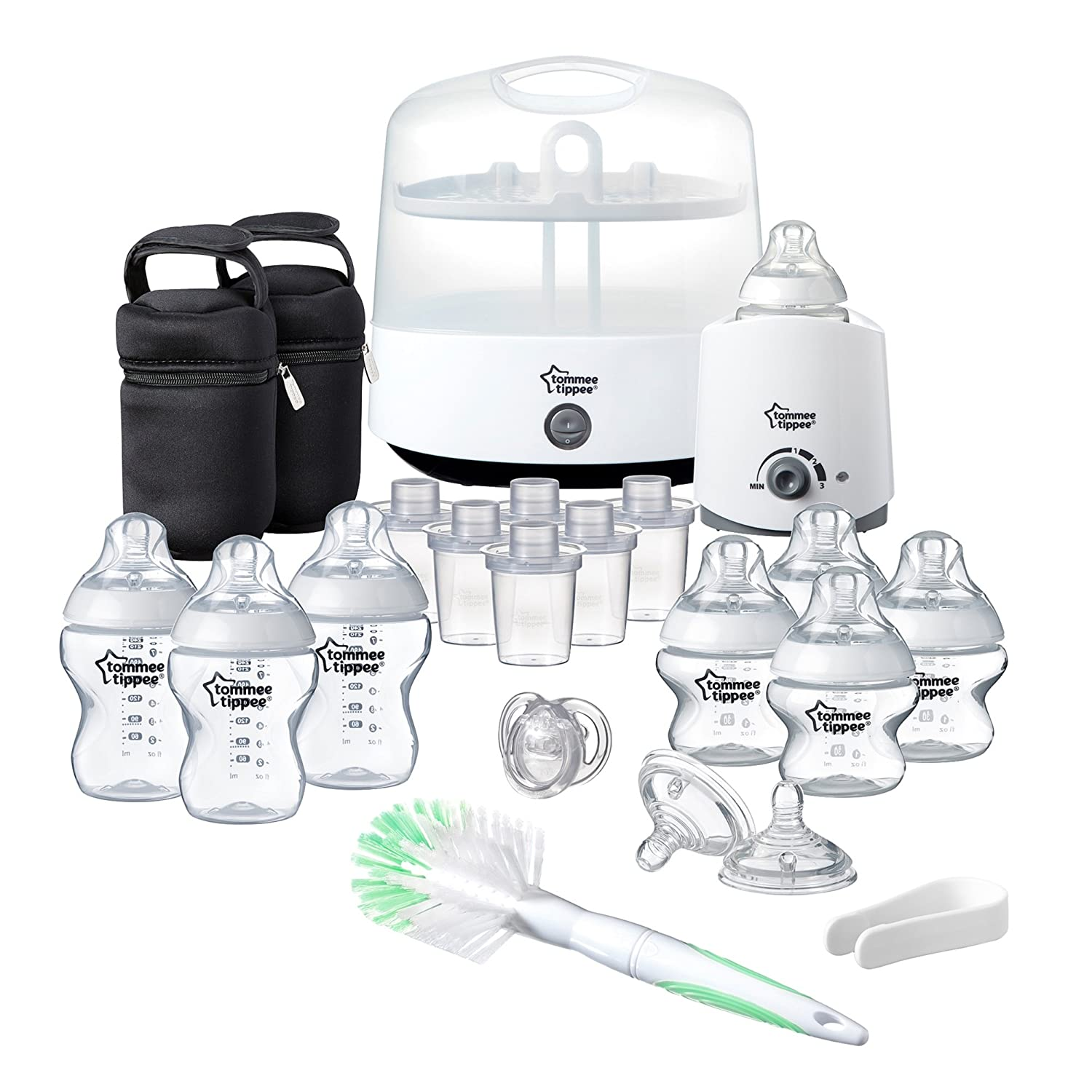 Tommee Tippee Closer to Nature Complete Feeding Set, Blue Mayborn Group 423583