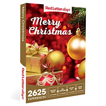 Merry Christmas Gift Card.Red Letter Days Merry Christmas Gift Voucher 2625