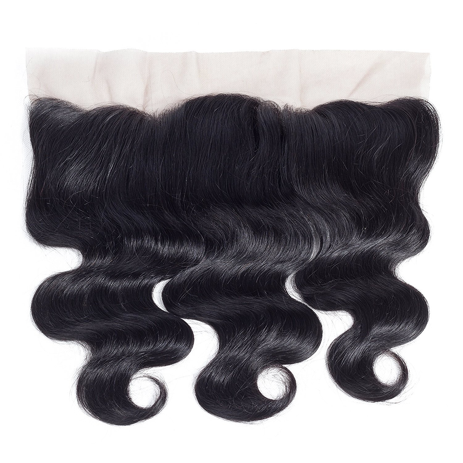 Amella Hair 10A Brazilian Body Wave Frontal(16 18 20+14 Frontal) Bundles with Frontal Ear to Ear Lace Frontal Closure with Bundles Brazilian Body Wave Frontal with Baby Hair Natural Black Color by Amella hair (Image #5)