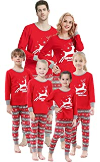 PajamaGram Matching Christmas Pajamas for Family - Family Christmas ... 5d523ba4e