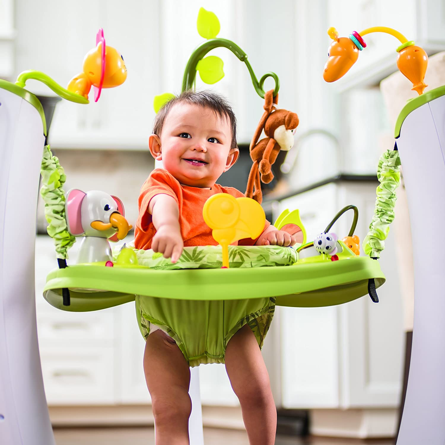 Evenflo ExerSaucer Jump and Learn Active Learning Center