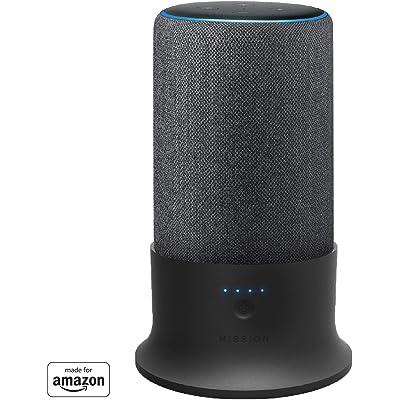 Base de batería Mission para Amazon Echo Plus (2ª generación) (negro)