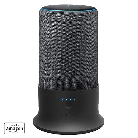 Amazon.com: Base de batería Mission para Amazon Echo Plus ...