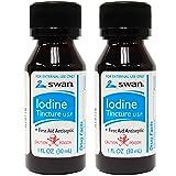 Swan Iodine Tincture U.S.P. - 1 fl oz