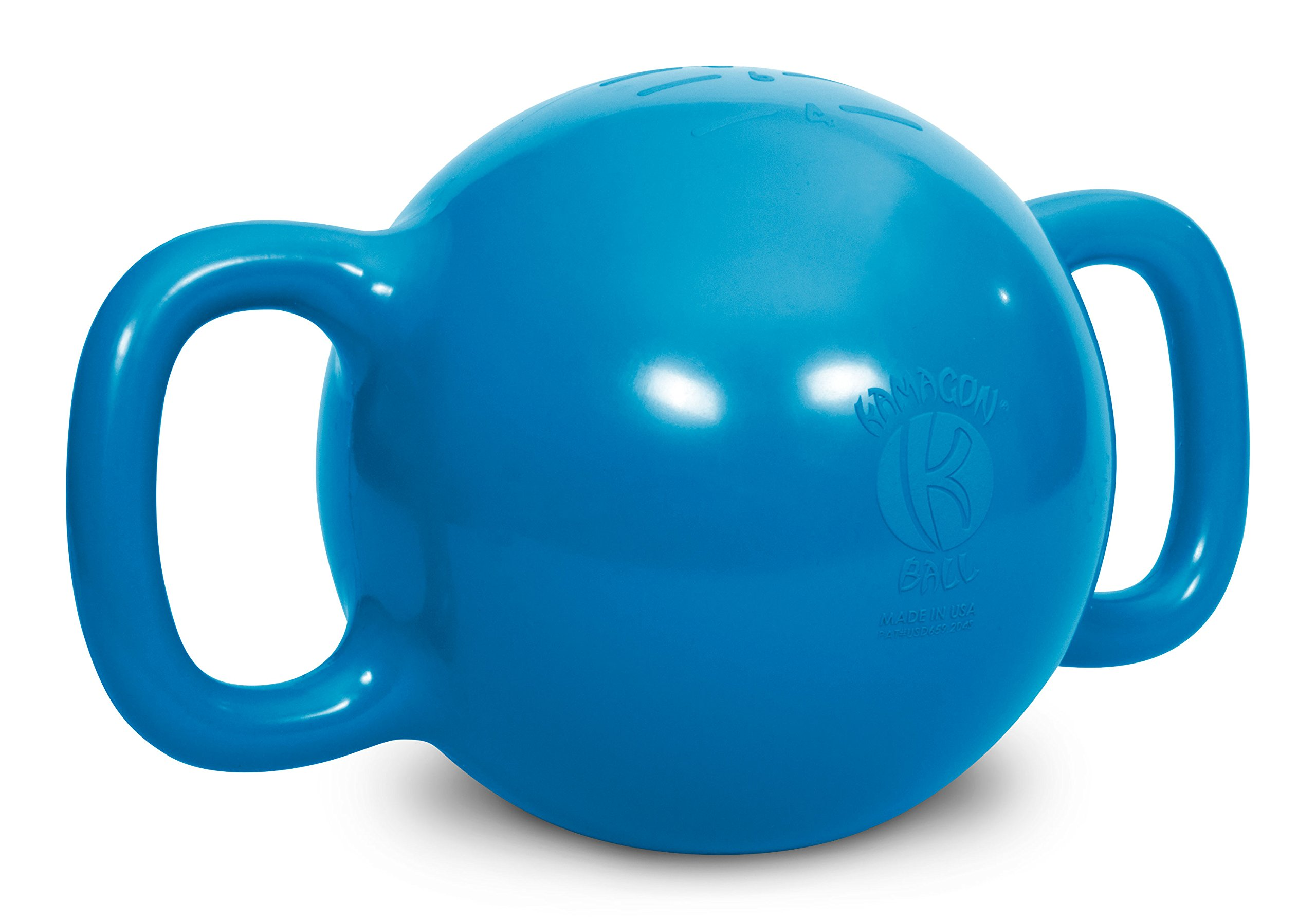 Kamagon Exercise Ball, Blue, 9-Inch with workout DVD by Kamagon