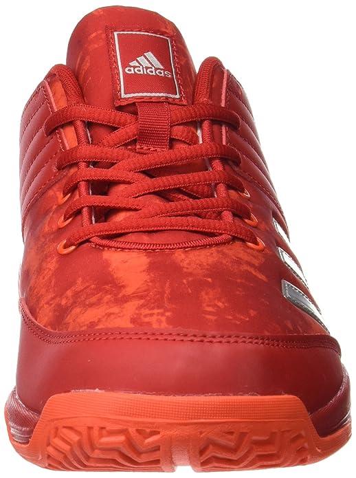 huge discount ba784 55e83 adidas Ligra 5, Chaussures de Volleyball Homme, Rouge (Scarlet Energy Silver  Metallic), 40 EU  Amazon.fr  Chaussures et Sacs