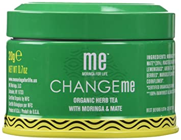 ME Moringa Change Me Organic Herb Loose Leaf Tea with Moringa & Mate, USDA Organic