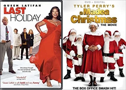 tyler perry a madea christmas last holiday double feature dvd movie bundle - Queen Latifah Christmas Movie