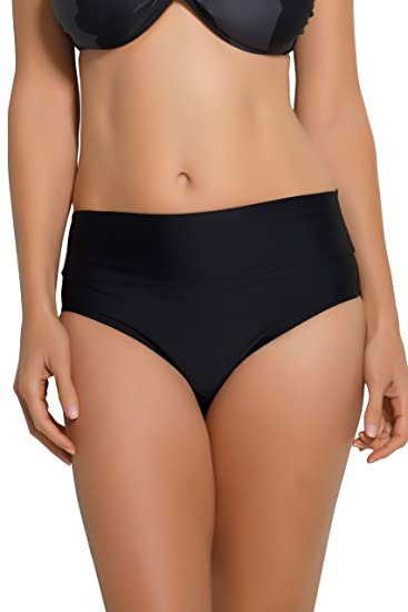62eca7f608 Amazon.com  HAPARI Black Tummy Tuk Swim Bottom - S  Clothing