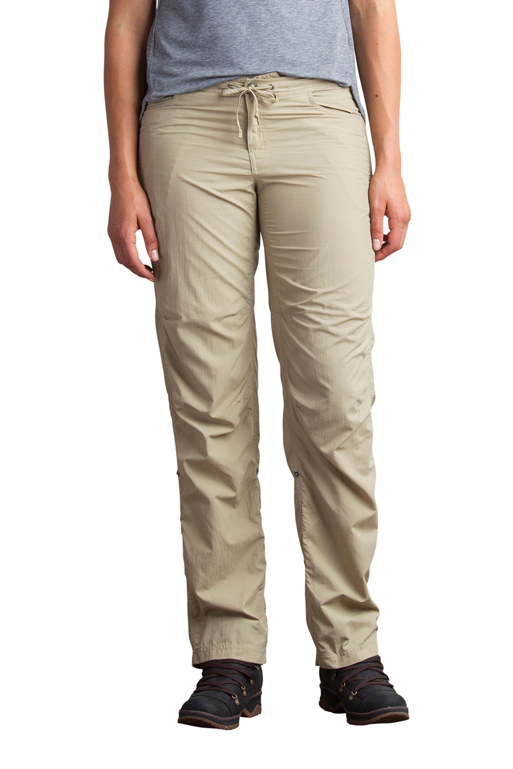 ExOfficio Women's BugsAway Damselfly Pants Petite Length, Tawny, 4
