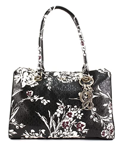 3c1b6453d4 GUESS Tamra Society Carryall Black Floral  Amazon.co.uk  Shoes   Bags