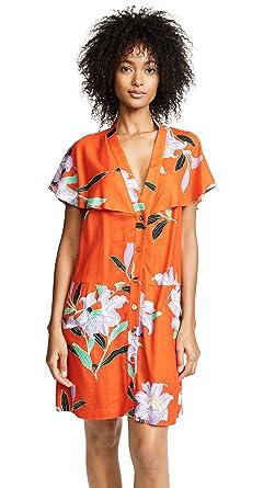 Diane Von Furstenberg Womens Argos Clementine Dress Small