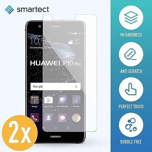 8 opinioni per [2x] Huawei P10 Lite Pellicola Vetro Temperato • Pellicola Protettiva in Vetro
