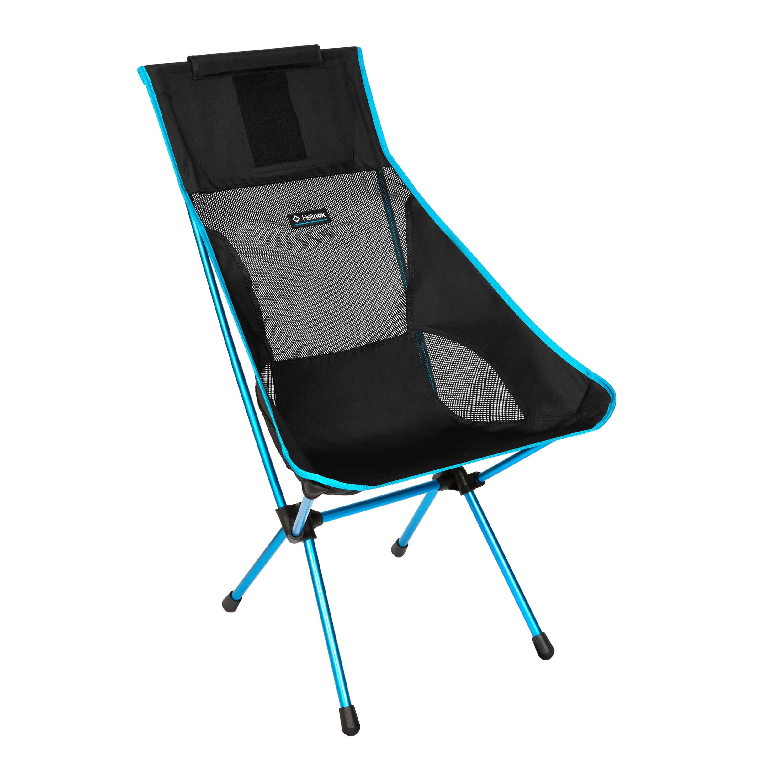 Helinox Sunset Chair Lightweight, High-Back, Compact, Collapsible Camping Chair, Black