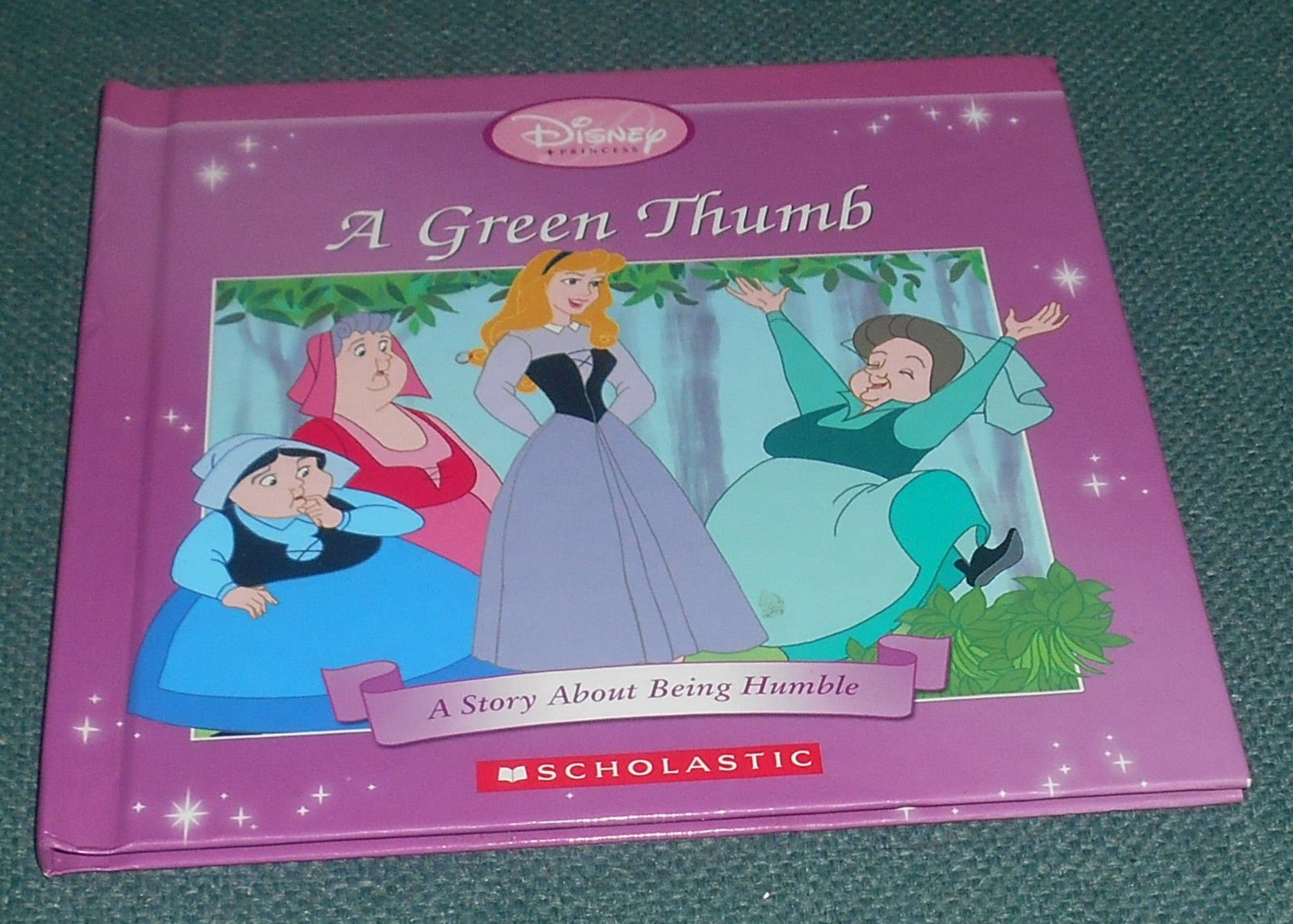 A Green Thumb: A Story About Being Humble (Disney Princess) ebook