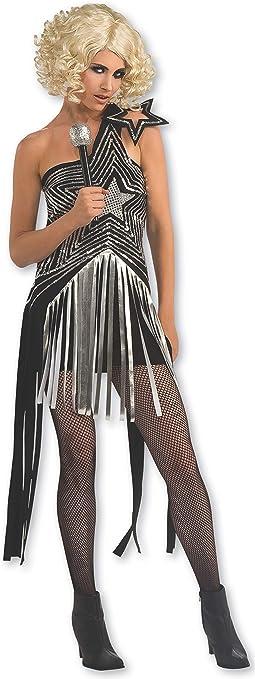 Rubbies - Disfraz de Lady Gaga para mujer, talla M (889977STD ...