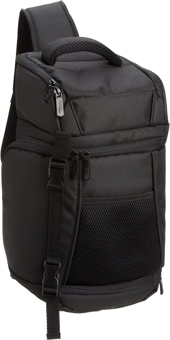 AmazonBasics SLR Camera Sling Backpack Bag - 8 x 6 x 16.5 Inches