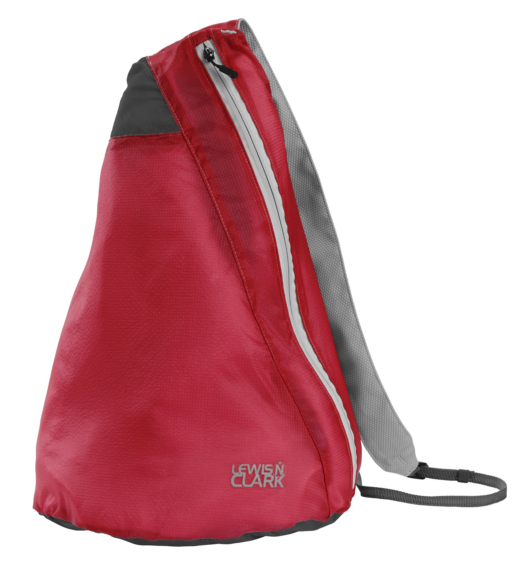 Lewis N Clark Electrolight Sling Pack, Red/Charcoal, One Size