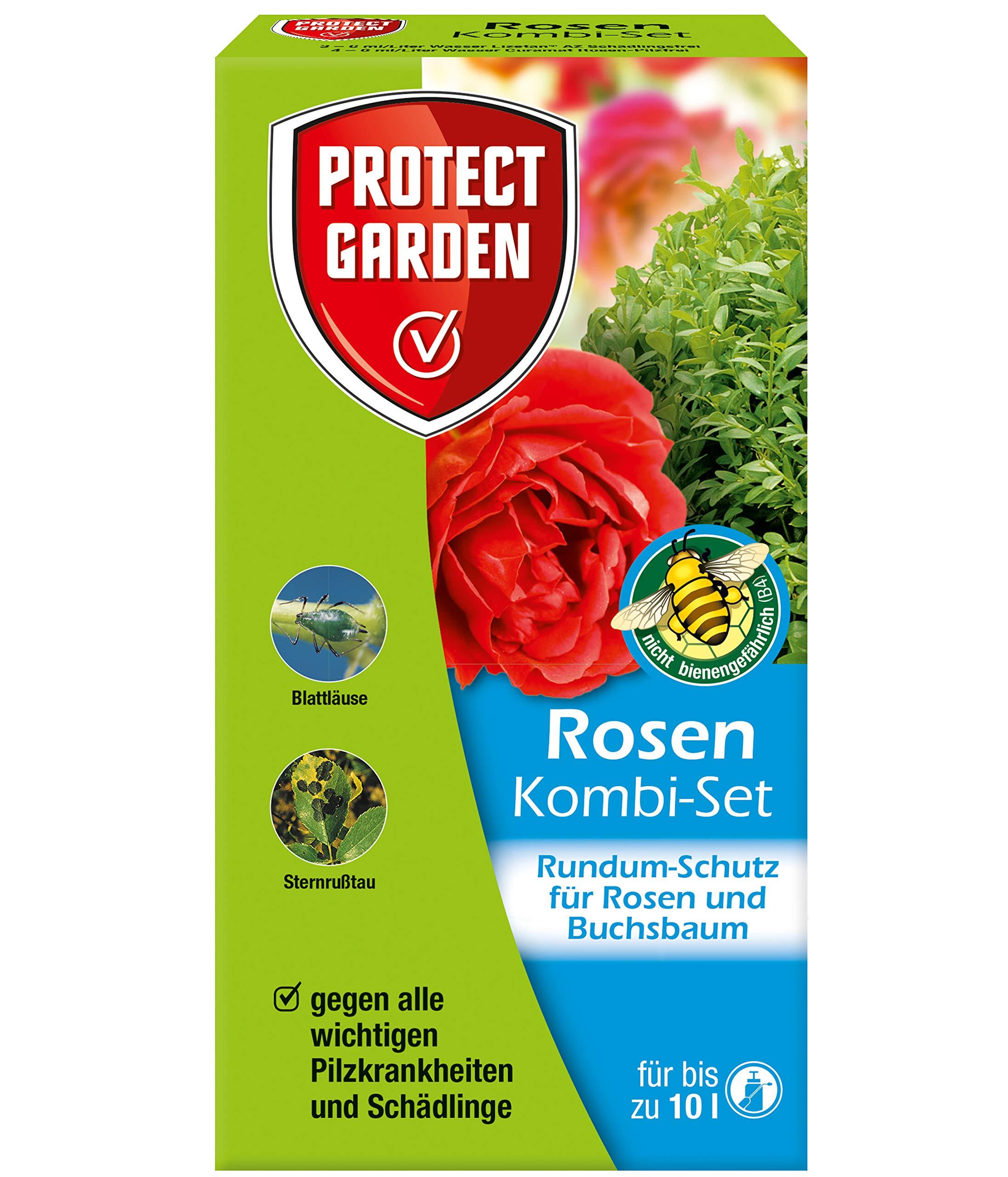PROTECT GARDEN Rosen Kombi-Set (ehem. Bayer Garten) zur Pilzbekämpfung an Rosen und Zierpflanzen, 130 ml product image