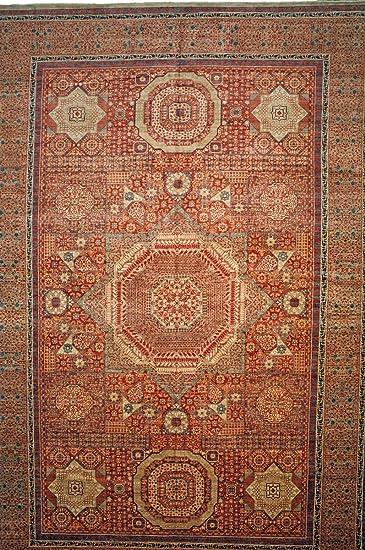 Nain Trading Mamluk 554x359 Orientteppich Teppich Braun Rosa