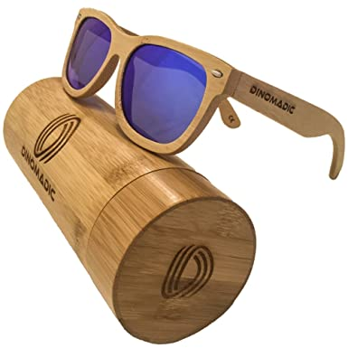 869cc48a441 Polarized   Floating Bamboo Wood Sunglasses for Men   Women