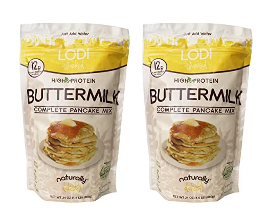 Lodi Unbaked, sin gluten, alta proteína, mezcla completa de ...