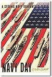 A Strong Navy Guarantees Peace - NEW Vintage Reprint Poster