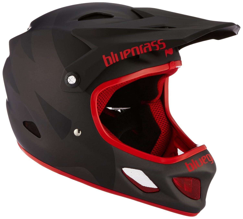 bluegrass(ブルーグラス) ヘルメット Explicit 3HELG01L0NX マットブラック/レッド L   B015DJPB4C