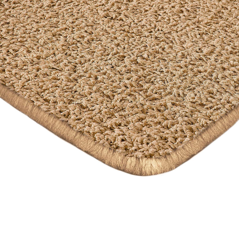 Floori Shaggy Hochflor Teppich - 160x230cm - moderner Wohnzimmerteppich - beige