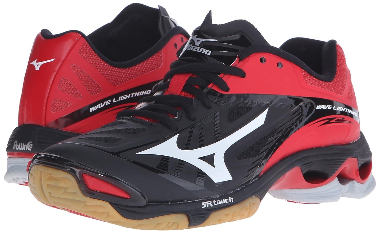 Mizuno Women's Wave Lightning Z2 Volleyball US|Black/Red Shoe B01AUPRFE8 10 D US|Black/Red Volleyball 3c3756