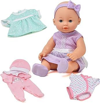 Amazon.com: Juego de muñecas de bebé recién nacido, 8 piezas ...