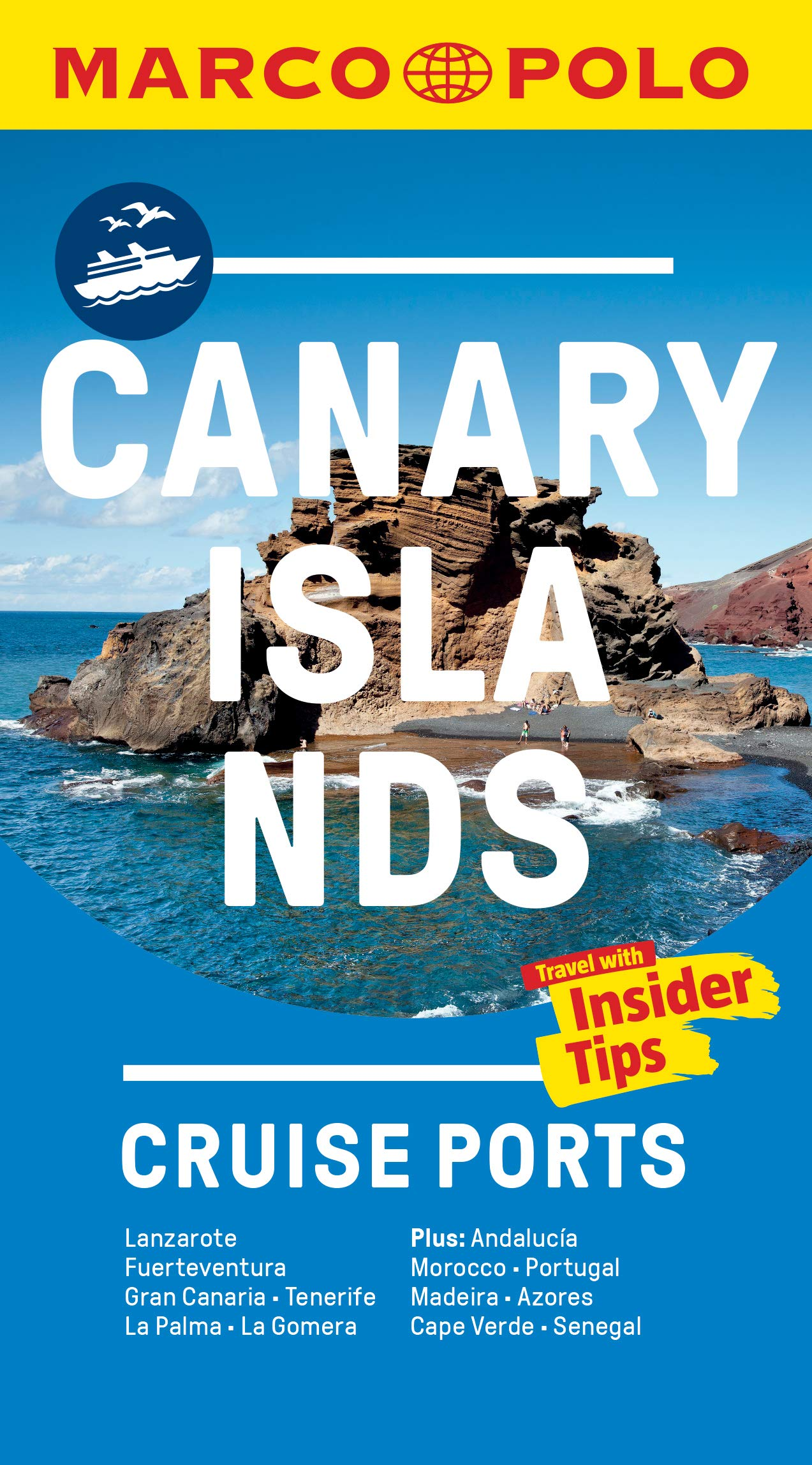 Canary Islands Cruise Ports Marco Polo Pocket Guide - with pull ...