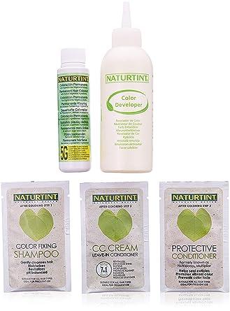 Naturtint Colores permanentes permanentes para el cabello castaño dorado claro (5G) 5 oz