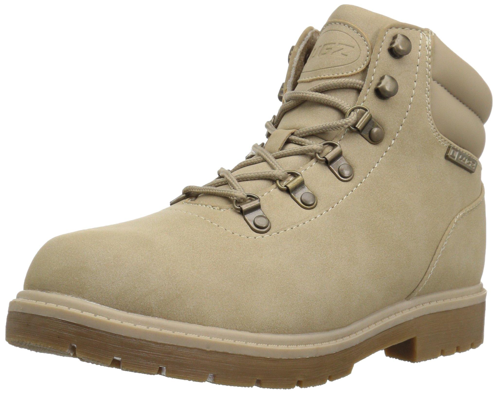 Lugz Men's Briarwood Mid Fashion Boot, Sand/Gum, 10.5 D US