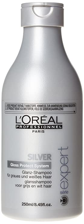 L'oreal Serie Expert Silver Shampoo for Unisex, 250ml Shampoos (Beauty) at amazon