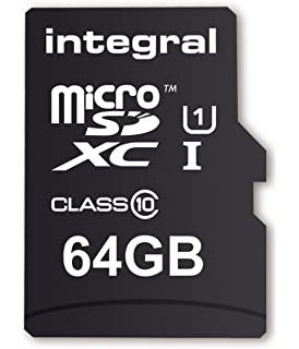 Integral Memory UltimaPro 64 GB MicroSDXC Class 10 Card Up To 40 MB S